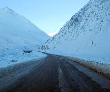 kazbegi_road_snow