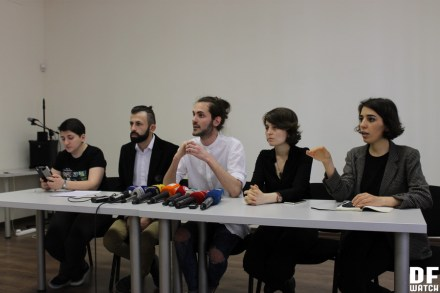 Representatives of Georgia's leading women's and LGBT organisations held a press conference at the office of the Open Society Georgia Foundation, during which they accused the state of terrorising and intimidating the LGBT community. (Dfwatch)