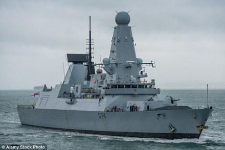 """ესკადრის ნაღმოსანი HMS Diamond გამოშვებულია 2007 წელს, სამხედრო ფლოტის სამსახურში კი 2010-ში ჩადგა (""""დეილი მეილი"""")"""