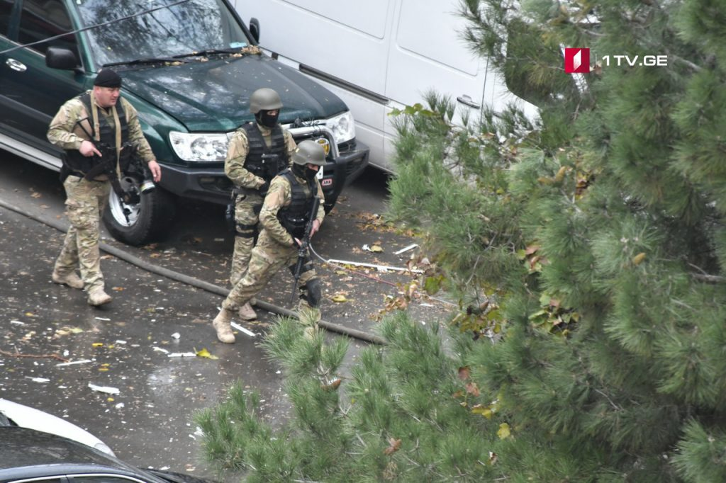 Gunfire Reported As Georgian Officials Conduct Tbilisi 'Counterterrorism Operation&#39
