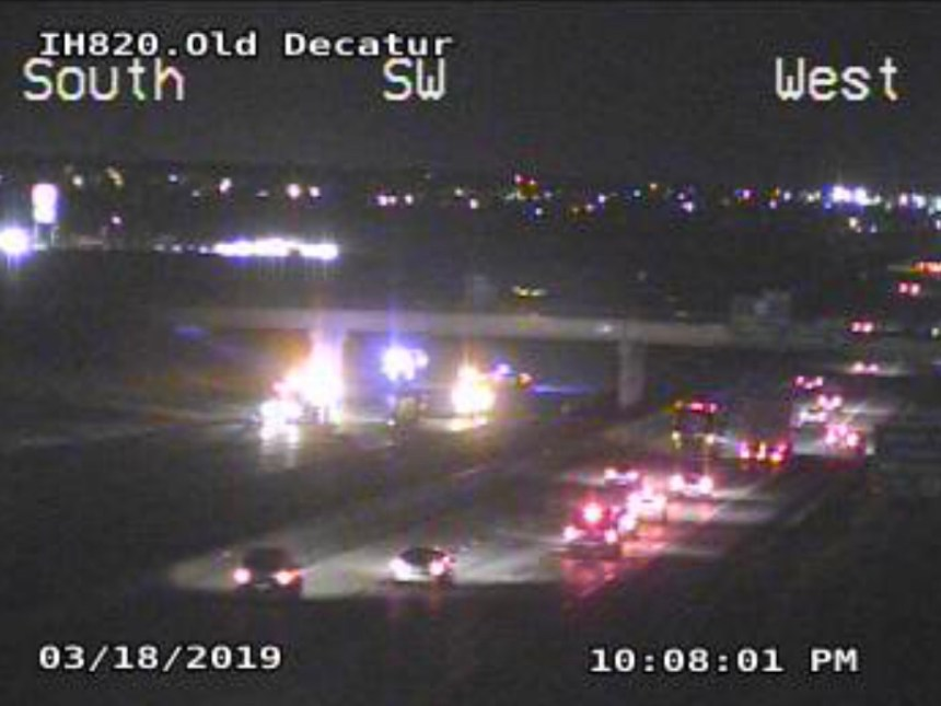 Lanes of 820 closed in Fort Worth due to a major accident | DFW Scanner