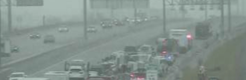 Major delays on Loop 820 in north Fort Worth due to a major accident