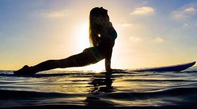 SUP Yoga- Paddleboard Yoga Dallas