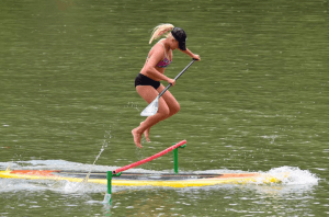 Hannah Elferink at Bastrop SUP Cup