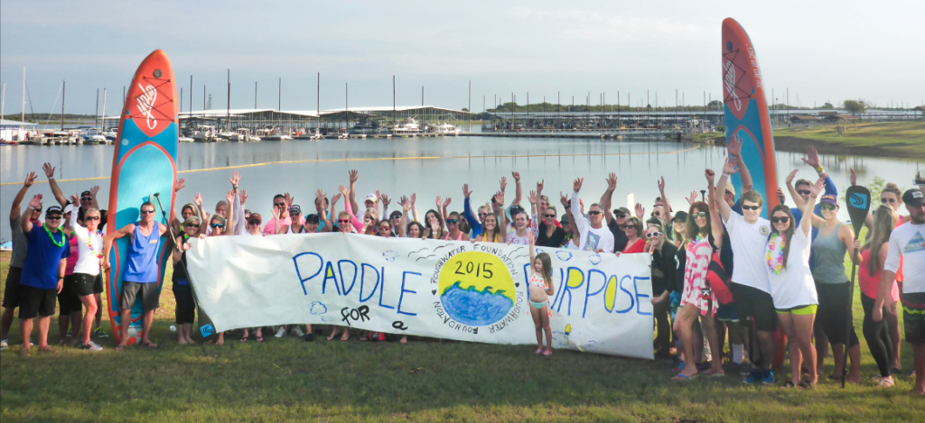 Paddle for a Purpose Lake Lewisville 2015