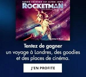 Concours Rocketman : un voyage à Londres à gagner ! Je participe.