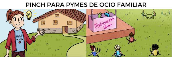 Pinch para pymes locales de ocio familiar