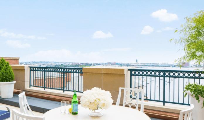 Boston Harbor Hotel Suite