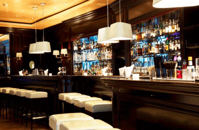 Baur au Lac Zurich Switzerland Review bar