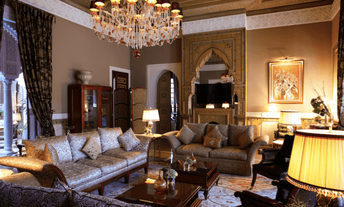 Royal Mansour  Fireplaces