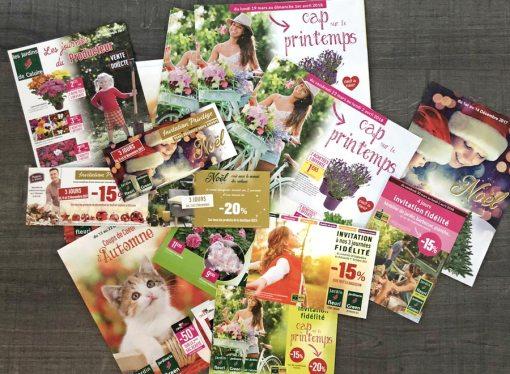 Jardin Fleuri – Catalogues publicitaires