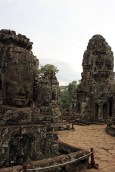 Thousands of these faces are scattered throughout Angkor Thom.