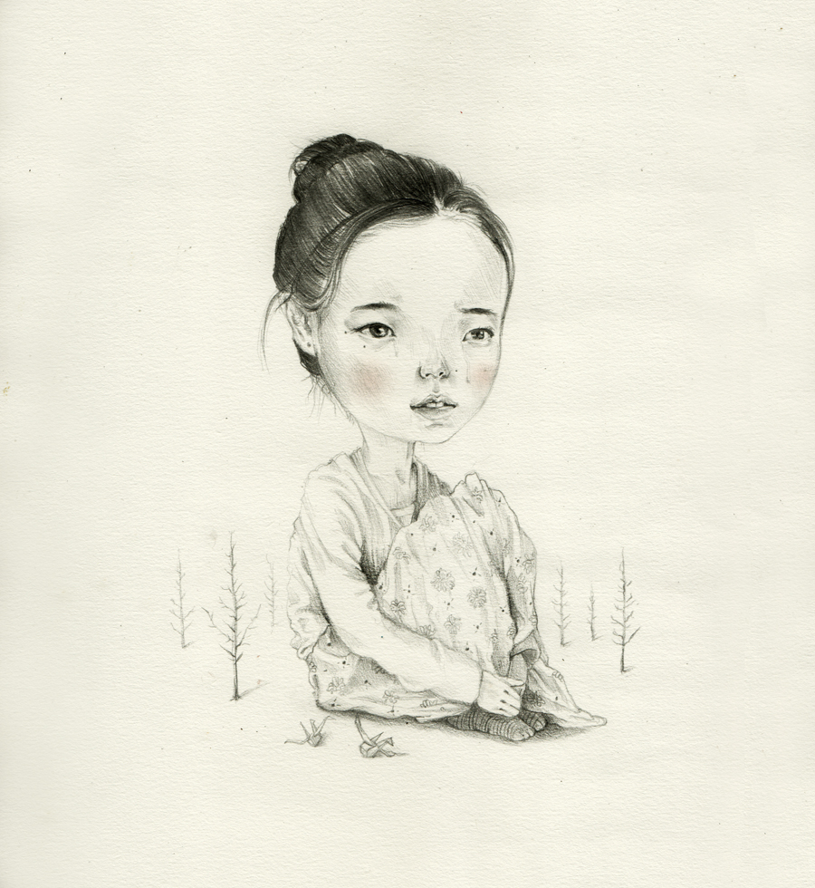 Roby-Dwi-Antono-Tribute-to-Yu-Aoi-Pencil-on-paper-27.5-x-27.5-cm-2012jpg