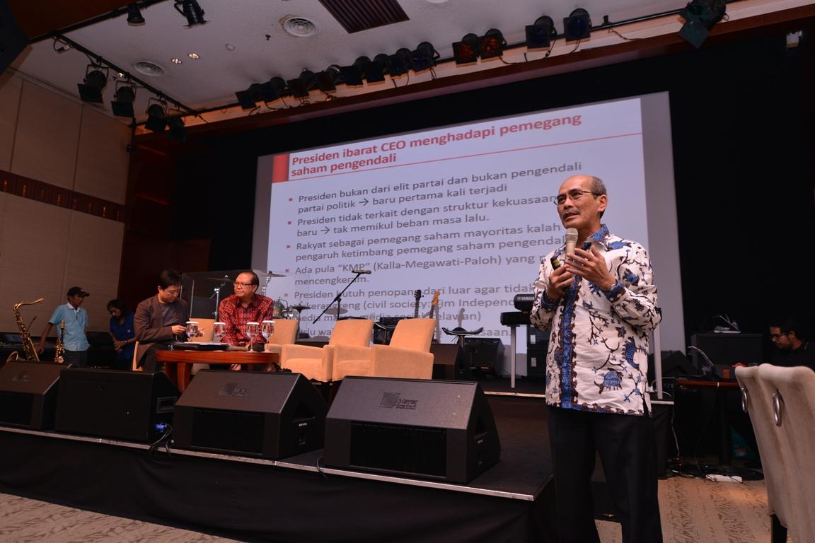 Faisal Basri, Pembicara dalam acara FGD CEO Gathering