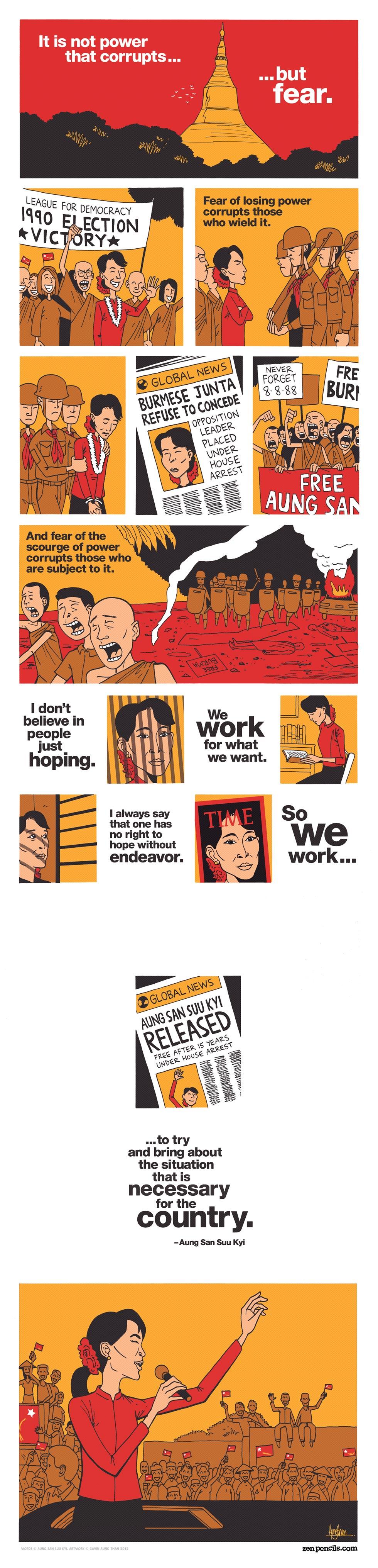 Aung San Suu Kyi: Freedom for Fear