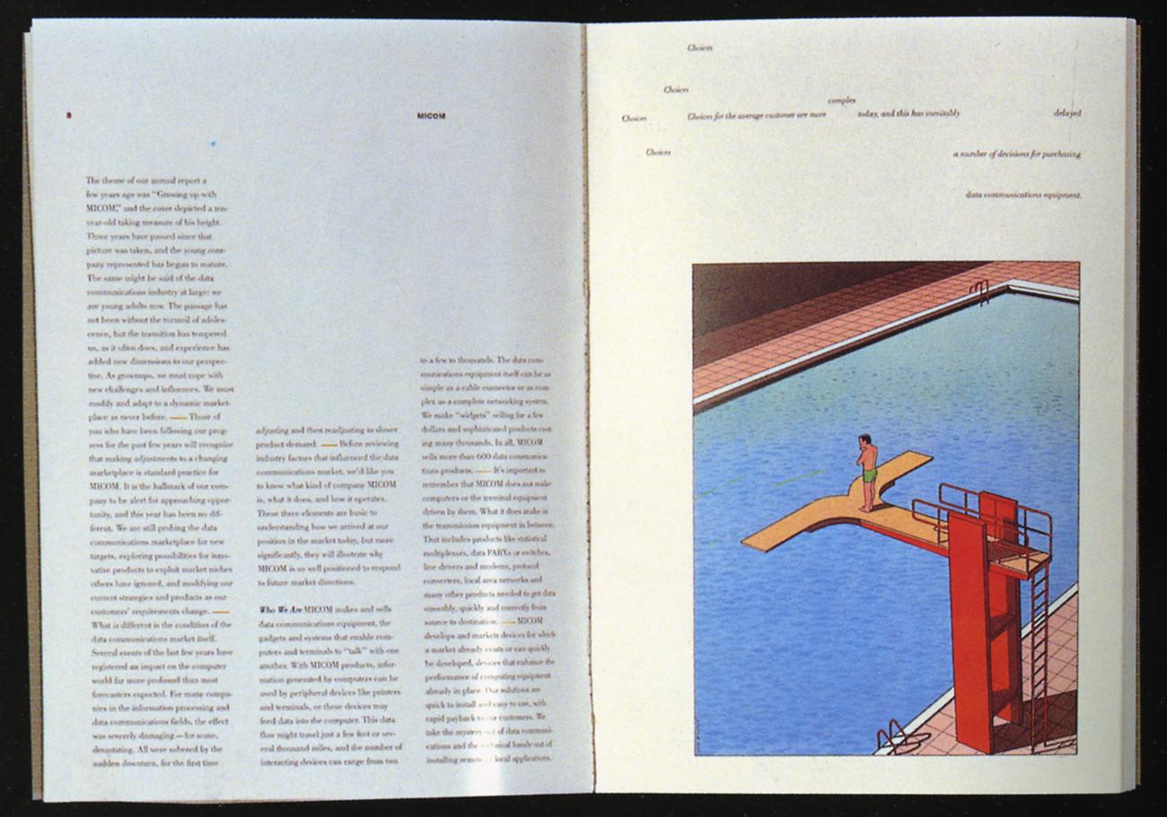 MICOM Systems, Inc., 1986 Annual Report: Robert Miles Runyan & Assoc., Playa del Rey, California, 1986