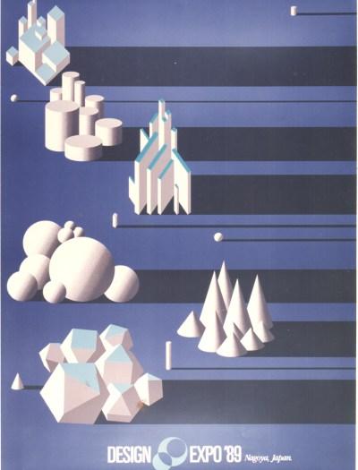 Poster-Design Expo 1989-Shigeo Fukuda