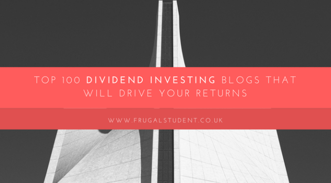 Top 100 Blogs For Dividend Investors…Guess Who Is #25?