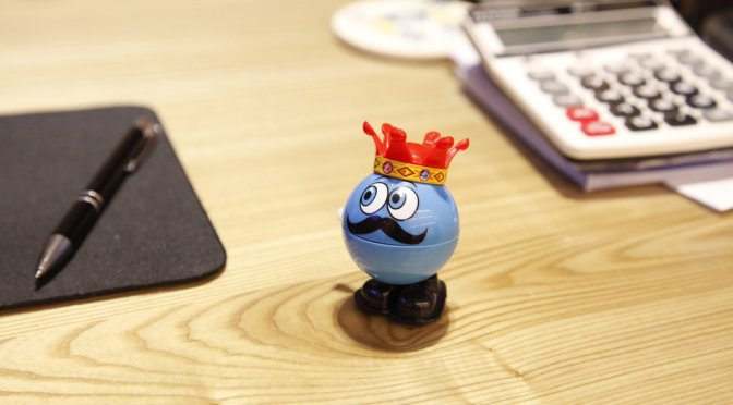 Smiling King Ball Toy