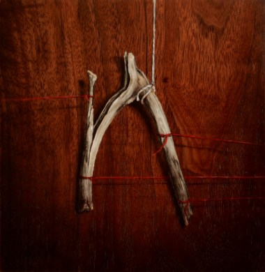 """Absolute: Struggle"" Oil on reclaimed walnut 7.23.14. Oil on reclaimed walnut 7.23.14."