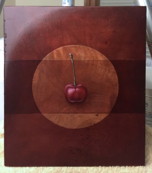 Reducing shadows and bringing out highlights on the cherry