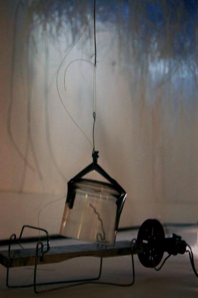 aluminium bar, swinging resonator