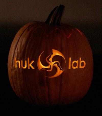 disc golf huklab pumpkin