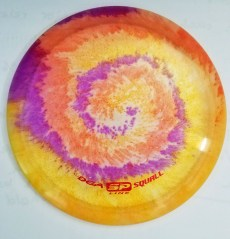 Disc golf shaving cream dye squall