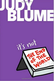 judy blume it's not the end of the world divorce parents children book must read great book