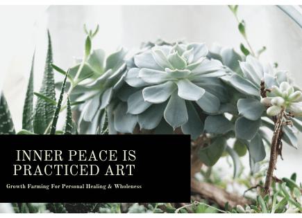 inner peace practice art d grant smith growth farming