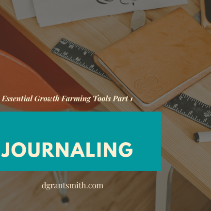 essential growth farming tools journaling