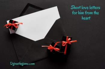 Short Love Letters For Him From The Heart