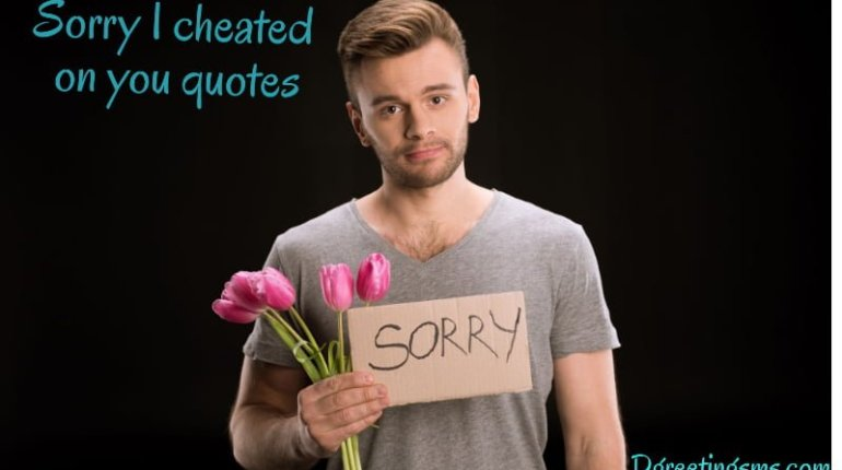 Sorry I Cheated On You Quotes