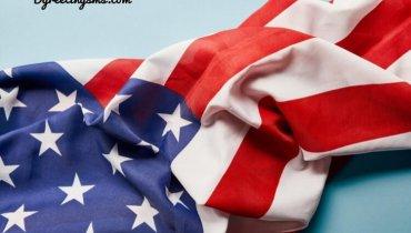 happy birthday american flag