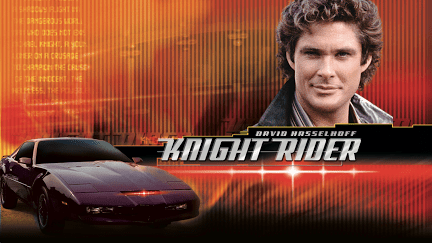 Knight Rider and K.I.T.T. show poster