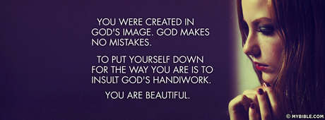 God Makes No Mistakes Facebook Cover Photo My Bible