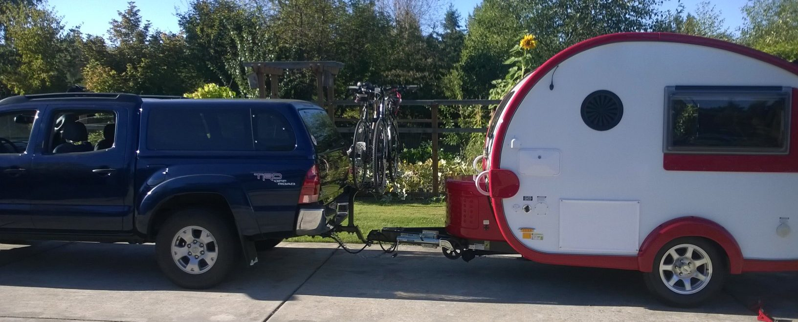 find a great rv bike rack and hit the