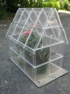 95 DIY Greenhouse Plans  Learn How To Build A Greenhouse Repurposed CD Case Greenhouse