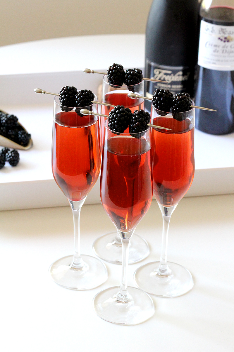 Kir Royale Cocktail Recipe Lulus Com Fashion Blog