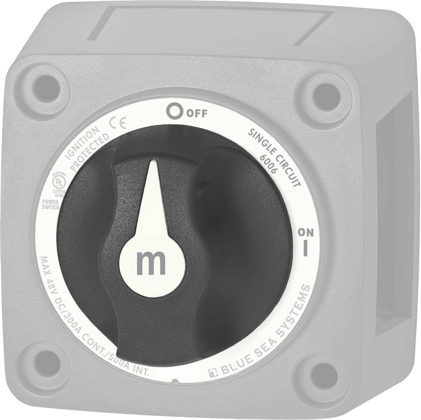 M Series Battery Switch Spare Knob
