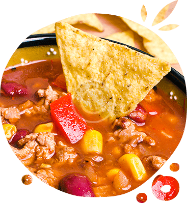 Soup  With Tacos