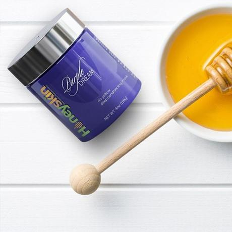 The Honeyskin Purple Hydrating Hair Mask