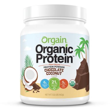 Orgain Organic Protein plant based protein powder