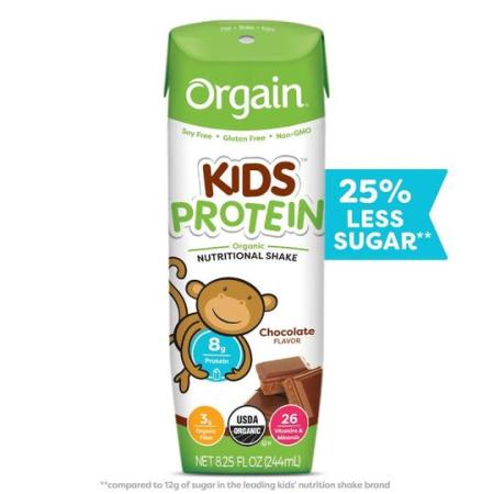 Orgain Kids Protein nutritional shakes organic
