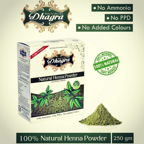 Natural Henna Powder - 250 gms