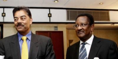 Bidco director Vimal Shah (left) and Tatu City chairman Nahashon Nyagah. Photo courtesy of www.businessdailyafrica.com