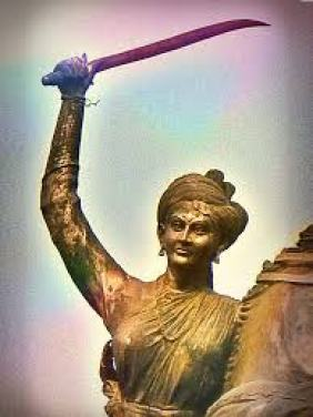 QUEEN OF JHANSI RANI LAKSHMI BAI POEM