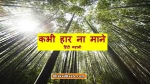 Read more about the article कभी हार ना माने-फैंटास्टिक हिंदी कहानी