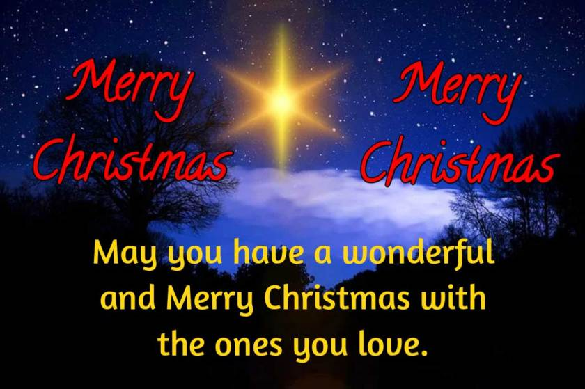 Merry Christmas Wishes HD Images