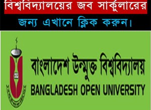Bangladesh Open University Job Circular 2018